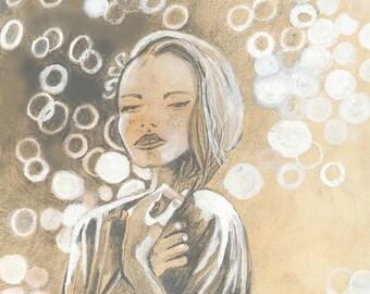 Art Print: Festival girl