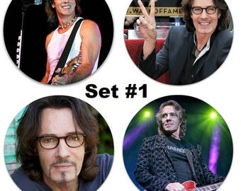 "Set of 4 Rick Springfield Large 2.25"" Pinback Buttons or Magnets - Choose Your Favorite Set"