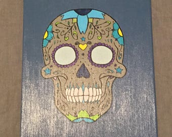 Sugar Skull Canvas
