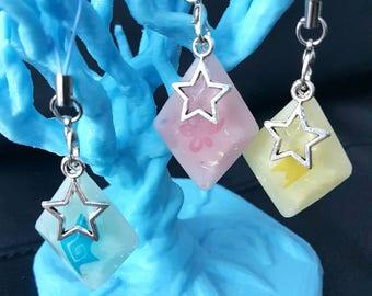 Pokemon Sun and Moon Z-crystal Phone Charm
