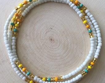 Tropical Kiss Waist Beads