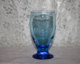 J1 Sapphire Blue Drinking Glass Electric