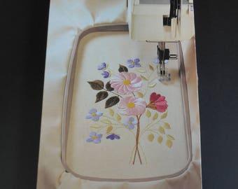 Genuine Husqvarna Viking Plus Hoop for Rose, 1+ Embroidery Machines