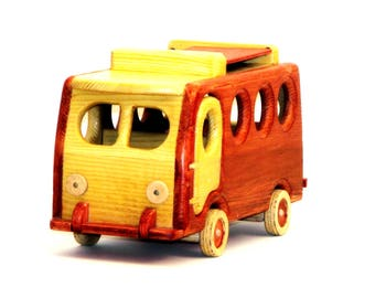 Wooden Camper Bus