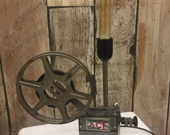 Vintage Pathescope ACE projector lamp