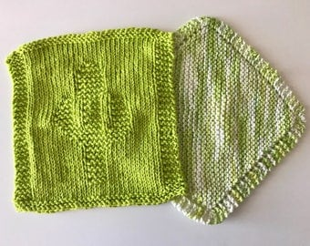 Can't Touch This - Knit Dishcloth (Set of two)