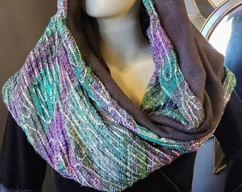 Mermaid Sequin Sparkly Festival Infinity Scarf