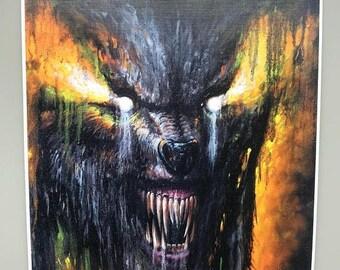 Firesale Hell Hound ( print )