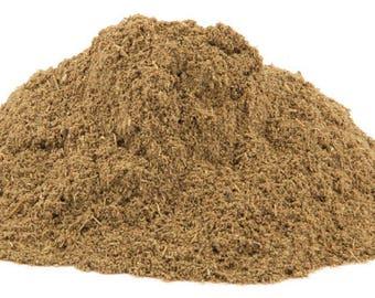 Feverfew Powder  -  3 ounces.  (Tanacetum parthenium)