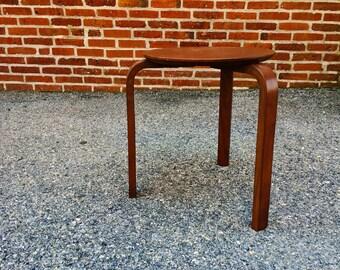 Danish 3 Leg Side Table