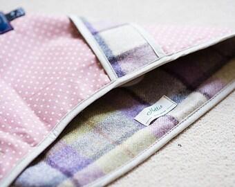 Gargrave Lilac Hettie Jasper 100% Wool Puppy Dog Coat