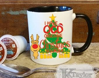 Funny Christmas Mug, Coffee Mug, Hot Chocolate Mug, Tea Mug, Holiday Mug, Season Mug, Gift Idea, Christmas Gift, Cute Holiday Mug