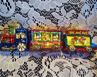 Thomas Picconi Christmas Train Ornaments (2)