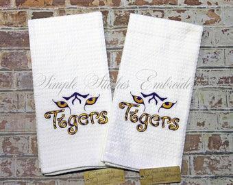 Tigers Kitchen Tea Towel