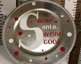 "Dear Santa, define ""GOOD"""