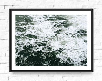 Ocean wall art, Ocean photography, Coastal wall art, Beach print, Beach life, Ocean wave art, Wave print, Ocean photo, Ocean waves