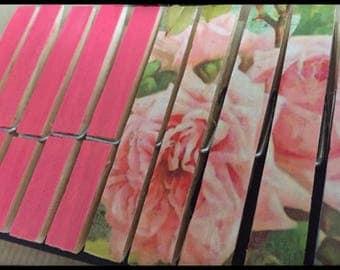 Set of 10 clothespins fantasy, standard (old Roses REF.)