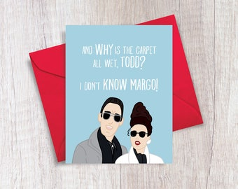 Todd and Margo | National Lampoons Christmas Vacation | Christmas Card