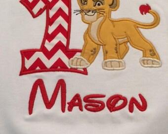 Lion Birthday Shirt