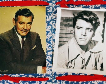 Clark Gable - Burt Lancaster - Filmstar Photos