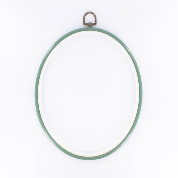 Frame embroidery hoop oval cm from lintemporel on