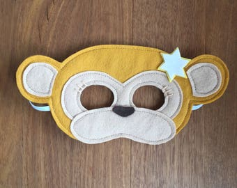 Night Monkey Mask / Costume