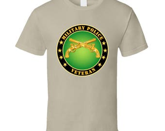 Army - Military Police Veteran T Shirt