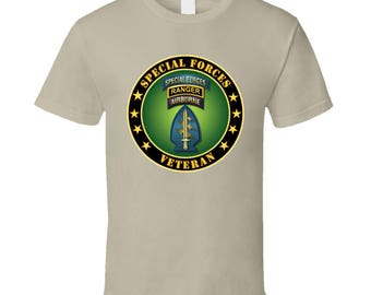 Army - Special Forces - Ranger Veteran T Shirt