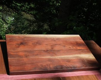 Black Walnut Handmade Cutting Board, Cheese Board, Serving Board, Carving Board, Gift, Kitchen, Wood, Natural