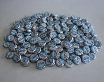 Beer Bottle Caps Busch Light Bottle Caps NO Dents - Unit of 200
