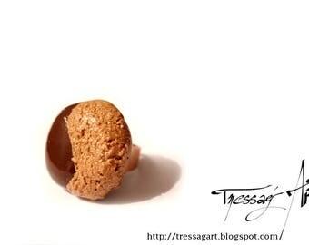 Big cookie gourmet chocolate ring