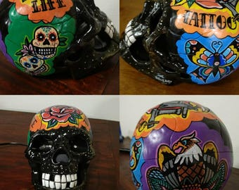 Tattoo Life Skull  Telephone
