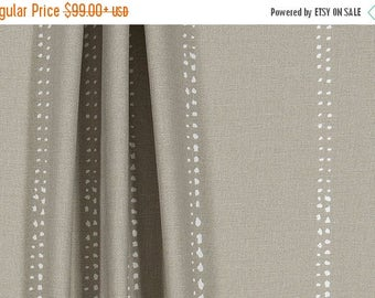 summer sale custom fabric shower curtain carlo cove taupe stripe white 54 x 78 72 x