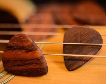 Cocobolo Guitar Picks