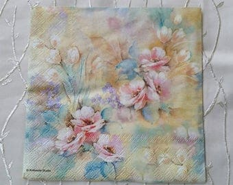 Napkins. Decoupage. Set of 3 piece - Beautiful decoupage napkins 3 paper napkins