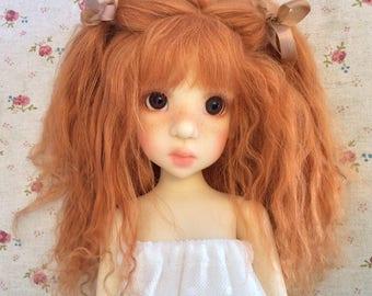 Custom made BJD mohair wig / Blythe wig / SD doll wig / Kaye wiggs mohair wig / Kaye wiggs Abby mohair wig Abby wig