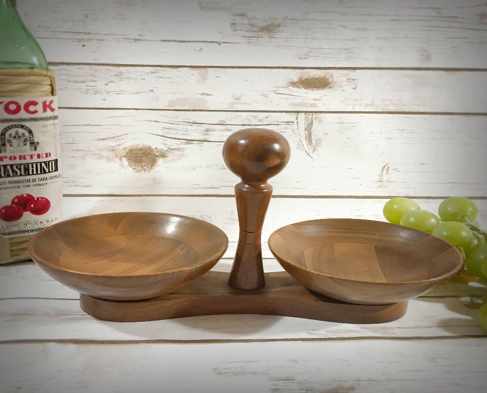 Wooden bar bowls baribocraft serving bowl audrey