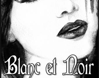 Blanc et Noir - Summer 2017 Collection - Handcrafted Perfume for Women - Love Potion Magickal Perfumerie