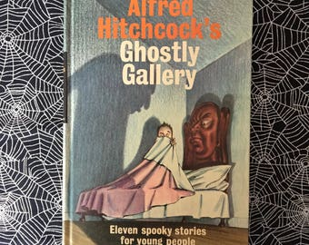 Alfred Hitchcock's Ghostly Gallery (Children's Hardcover Horror Anthology)
