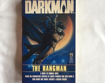 DARKMAN #1: THE HANGMAN (Paperback Novel by Randall Boyll)