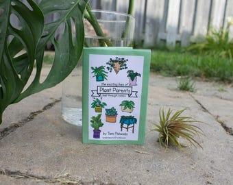 Plant parents comic zine