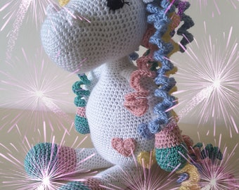 Crochet Pattern 'Sprinkles the Unicorn'