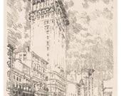 Flat Iron Print, 1905, ap...