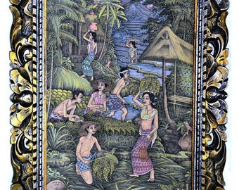 Traditional Balinese Painting