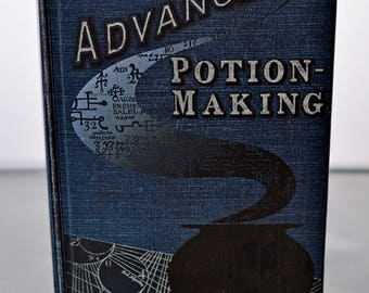 Advanced Potion Making book Harry Potter (As seen in Harry Potter and the Half-Blood Prince)