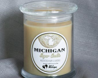 Heart of Michigan Sugar Cookie Candle