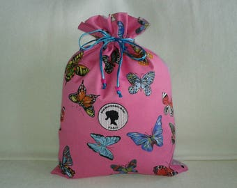 Butterflies in my hot pink pouch party
