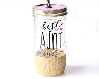 Gift for Aunt / Best Aunt Ever / Aunt to Be Gift / Gifts for Aunts / Aunt Cup / Aunt Pregnancy Reveal Gift / Aunt Mug