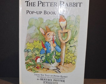 1983  Peter Rabbit Pop Up Book by Beatrix Potter Illustrated by Colin Twinn