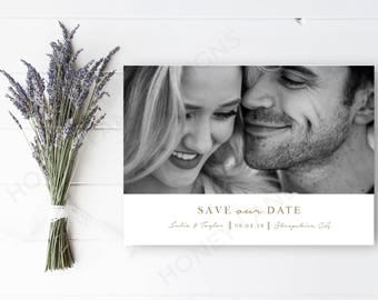 Personalised Printable, Save-the-Date-Printable Card - Julia Collection
